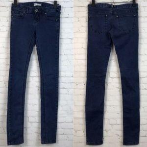Free People Women Jeans Blue Skinny Size 25
